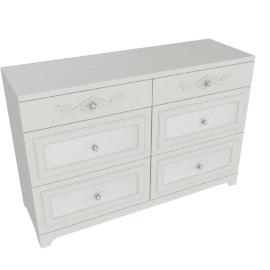 Elena dresser, Pearl Cream