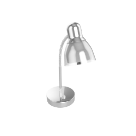 Brooks Led Study Lamp 32Cm H - Silver -3Pin