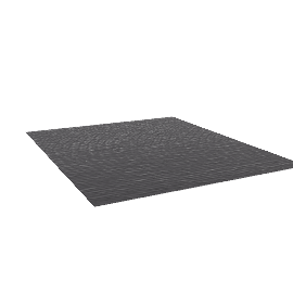 Broken Stripe Rug - 10x12 - Charcoal