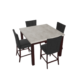 Audrey 5-Piece Dining Set