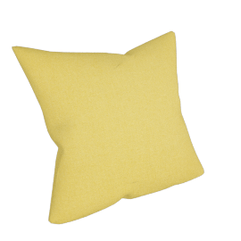 Linen Cushion, Yellow