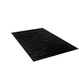 Thin Strip Cowhide Rug, 5'x8'