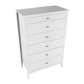 House by John Lewis Maine 6-drawer Chest