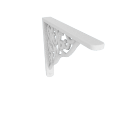 Wall Bracket Broque, White