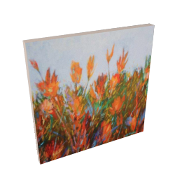 Gary Max Collins Colourfield 1 Print on Canvas, 48 x 48cm