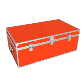 Fortified Storer Trunk, Red