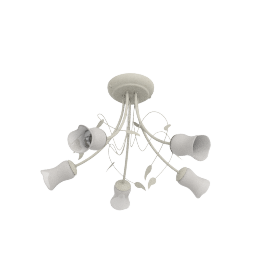 Amy Ceiling Light, 5 Arm