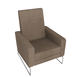 Flight Recliner in Fabric