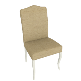 Anjoux Dining Chair, Antique Cream