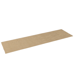 Sisal Boucle Plain Edge Runner, Sahara, W70 x L240cm