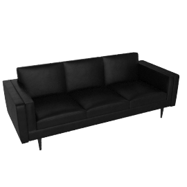 Chill 4 Seater Sofa, Suede Graphite