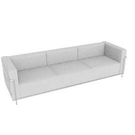 LC3 Grand Modele Three Seat Sofa - Down Cushion