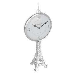 Eiffel Tower Table Clock - 18x9.5x44 cms