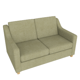 Bizet Small Sofabed, Grace Oyster