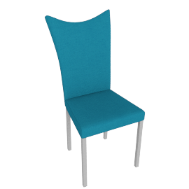 Gaily Dining Chair, Blue