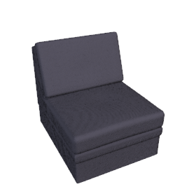 Dizzy Chair Bed, Anthracite