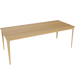 Ebbe Gehl for John Lewis Mira 8 Seater Dining Table