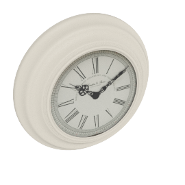 Down Time Wall Clock