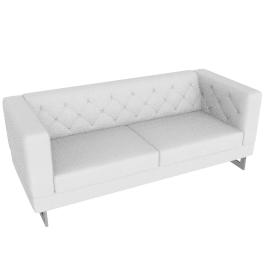 Lasky 3 Seater White