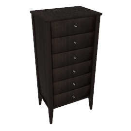 Hotel 6 Drawer Tall Chest