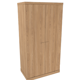 Keep Oak 2 Door Wardrobe