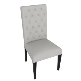 Victor Dining Chair, Beige