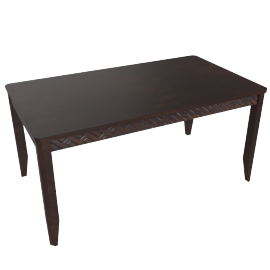 Brick 6-Seater Dining Table