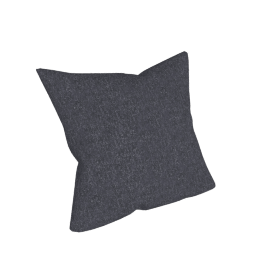 Como Throw Pillow in Fabric, Lama Tweed, Coal