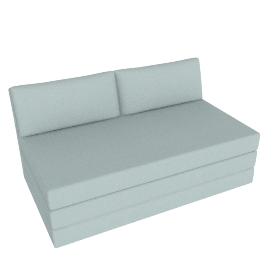 Kip Sofa Bed , Pier Duck Egg