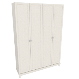 Estelle 4-Door Wardrobe