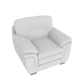 Taylor Armchair Full Leather Cream