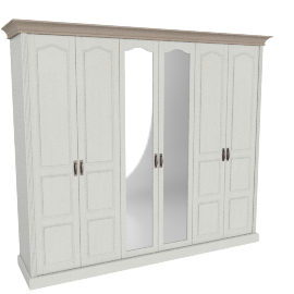 Louis Five-plus Door Wardrobe