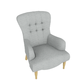 Layla Chair, Elena Mineral