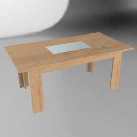 Strata Dining Table, Oak