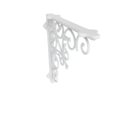 Wall Bracket Opera, White