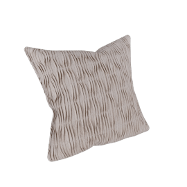 Fish Pleat Cushion Cover - 45x45 cms