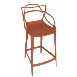 Masters Counter Stool, Rust