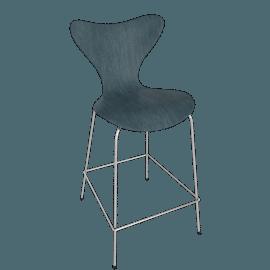 Series 7 Barstool - Painted Beech