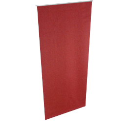 Burnt Orange Blackout Roller Blind - 90x210 cms