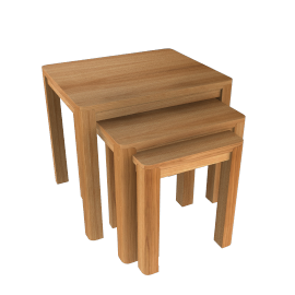 John Lewis Seymour Nest of 3 Tables