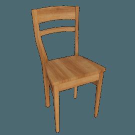 Piran Dining Chair, Chestnut