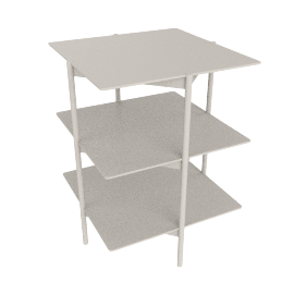 Tier Side Table, Grey