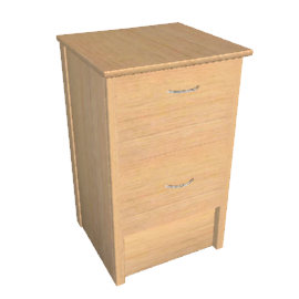 Modus 2-drawer Filing Cabinet, Beech