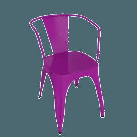 Marais A56 Armchair - Plum