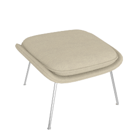 Womb™ Ottoman - Cato - Ivory