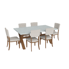 Lynnfield 7-Piece Dining Set