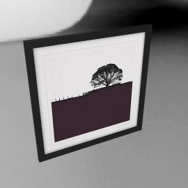 Jacky Al-Samarraie - Grassington Framed Print, 54 x 54cm
