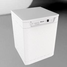 Hotpoint FDF784P Dishwasher, White