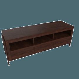 Zara 3-Drawer 3-Shelf Rectangular TV Unit
