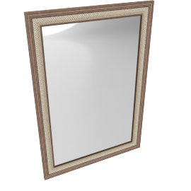 Cornishe Wall Mirror, Brown